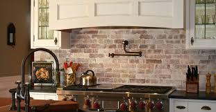 Brick Tiles For Backsplash In Kitchen Kitchen Backsplashes Faux - Stone backsplash tiles