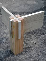 Bed Frame Joints Corner Joint Woodworking Woodwork And Woods