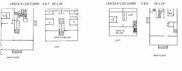 log homes floor plans log cabins floor plans beautiful 35 lincoln log homes floor plans
