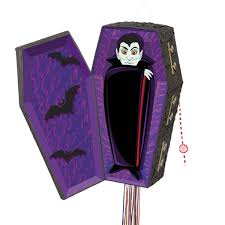 halloween vampire coffin pinata halloween party decorations