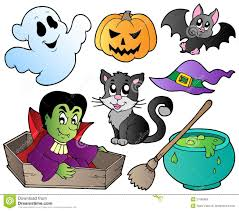 halloween graphics free halloween cute cartoons set 1 royalty free stock images image