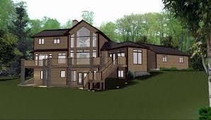 walk out basement plans mountain home plans with walkout basement mountain house