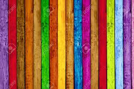 vibrant painted wood planks as background stock photo picture and