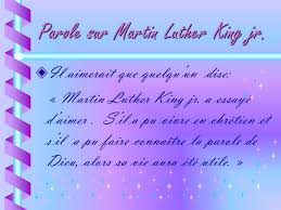 martin luther king i a testo martin luther king jr ppt t礬l礬charger