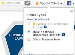 the killers fan club ticketmaster com faq how do i get fan club presale tickets