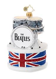 ringo drum set the beatles ornament