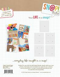 photo pocket pages sn p variety pack pocket pages for 6 x8 binders 10 pkg by
