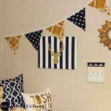 your own dorm room fabric pennant