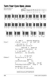 Light In Your Eyes Lyrics Turn Your Eyes Upon Jesus Sheet Music By Helen H Lemmel Lyrics