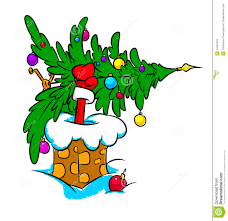 christmas tree santa claus christmas lights decoration
