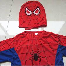 Spider Halloween Costume Baby Aliexpress Buy Red Spiderman Costume Black Spiderman