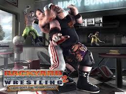 fondos de juegos backyard wrestling 2 there goes the