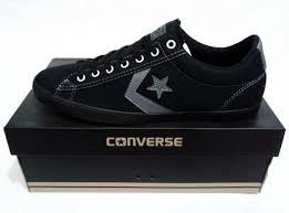 Sepatu Converse Black jual sepatu converse original player ox black charcoal