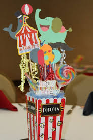 themed centerpieces excellent design circus themed centerpieces best 25 theme ideas on