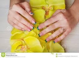wondrously polished 31 day nail art challenge day 4 green nails