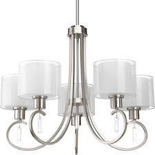 Brushed Nickel Light Fixtures Stylish Ideas Brushed Nickel Dining Room Light Fixtures Amazing