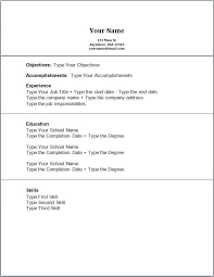 examples of resumes for high students with no experience