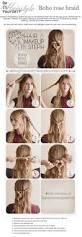 Simple And Cute Hairstyle by Easy Diy Boho Hairstyle Diy Hair Style Pinterest Rose Braid