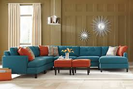 custom sectional sofa teal color custom sectional sofa made in the usa los angeles