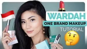 review tutorial make up natural wardah wardah one brand makeup tutorial review makeup lokal bahasa
