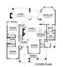 Slab Foundation Floor Plans House Plan 65870 At Familyhomeplans Com