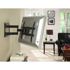 Tv Wall Mount 150 Lbs Atlantic Full Motion Tv Wall Mount For 37