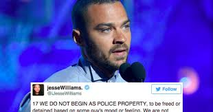 Jesse Williams Memes - jesse williams just destroyed the racist double standard of policing