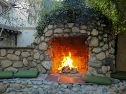garden design with fire pit and outdoor fireplace patio designs