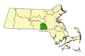Massachusetts On The Map by Bvpp Central Massachusetts Regional Planning Commission Cmrpc