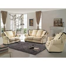 Beige Leather Sofas by Classic U0026 Traditional Sofa Sets