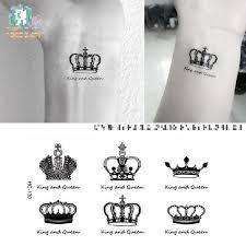 small king crown flash sticker