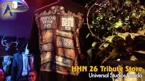 halloween horror nights com tour the halloween horror nights 26 tribute store at universal