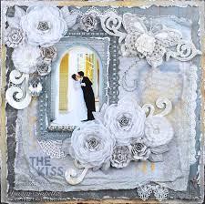wedding scrapbook ideas 545 best scrapbook layouts wedding images on