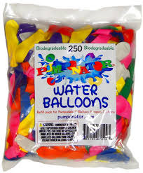 water balloons biodegradable water balloons 250 pc