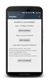 busybox apk busybox install pro no root 3 66 0 41 apk home