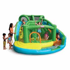 blast zone crocodile isle interactive water inflatable hayneedle