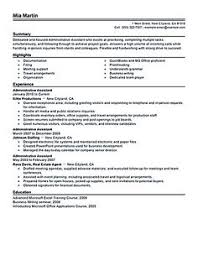 administrative assistant job objective cto resume or chief technical officer resume can be considered as