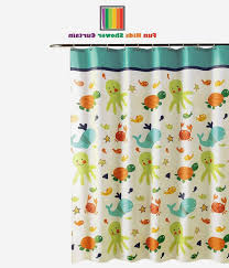 Amazon Shower Curtains Shower Curtains For Kids Bathrooms New Amazon Fun Kids Fabric
