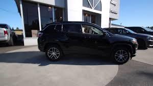 jeep compass 2018 black 2018 jeep compass latitude diamond black jt111917 mt vernon