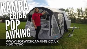 Air Awning Reviews Kampa Pop Air Pro Eriba Caravan Awning Review Youtube