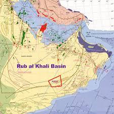 rub al khali map oman block 36 allied petroleum exploration inc