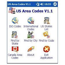 area code de usa us area codes para pocket pc descargar