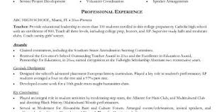 Sample Resume For Special Education Teacher by Teacher Resume Objective Esl Resume Sample Education Objective
