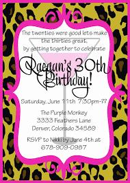 Birthday Party Cards Invitations 30th Birthday Party Invitations Kawaiitheo Com