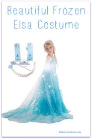 frozen elsa 5 piece costume for girls halloween haven