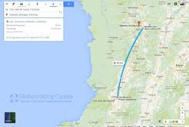 Avianca Route Map by Cali To Guatape Via Medellin U2013 Globetrotting Couple