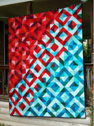 half square triangle quilt quarter bundles of colors