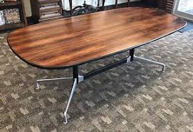 Herman Miller Eames Conference Table 7 Foot Rosewood Herman Miller Eames Conference Conference