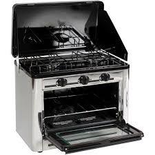 Outdoor Gas Cooktops Stansport Stainless Steel Outdoor Stove Oven Walmart Com