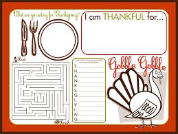 thanksgiving placemat free printable thanksgiving gathering printable set recipes
